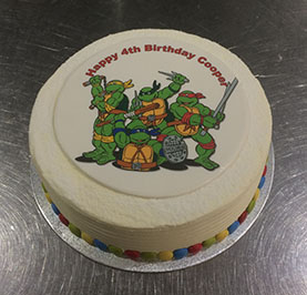 We Can Custom Make A Unique Cake For Your Individual On Their Special Day Come In And Talk To Us